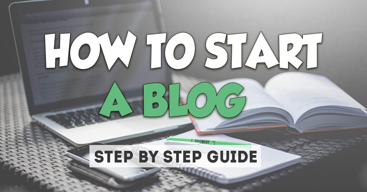 How to Start a Blog Guide - BlogTipsTricks