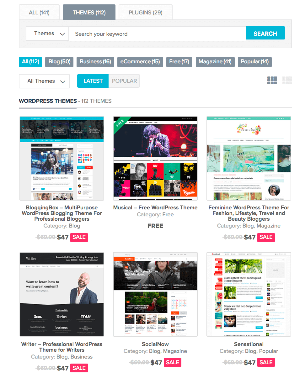 MyThemeShop Themes collection - BlogTipsTricks