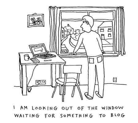 blogging cartoons niche - BlogTipsTricks