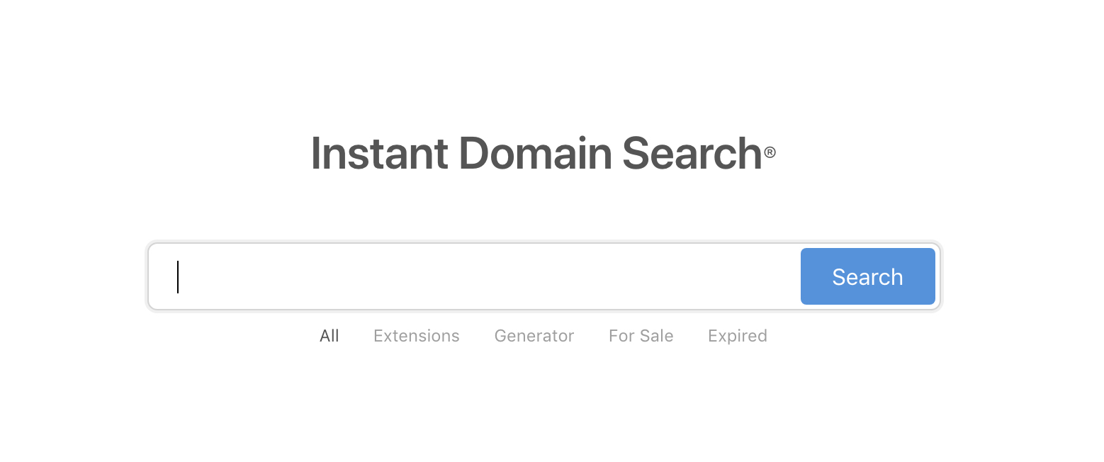 InstantDomainSearch - BlogTipsTricks