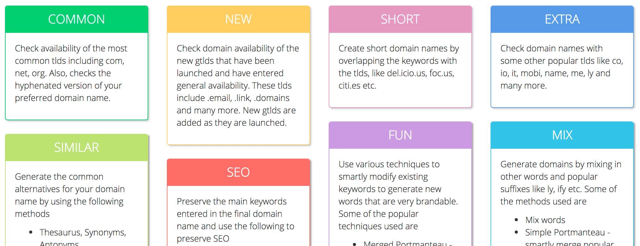 Namemesh fun Domain generator - BlogTipsTricks