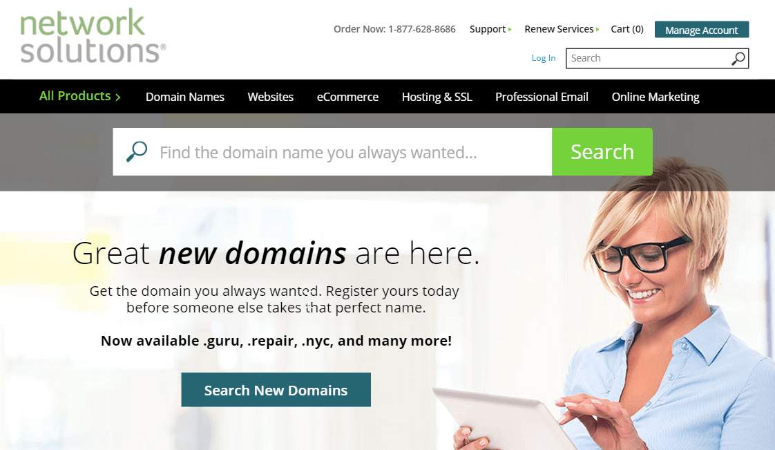 Network solution domain registrar - BlogTipsTricks