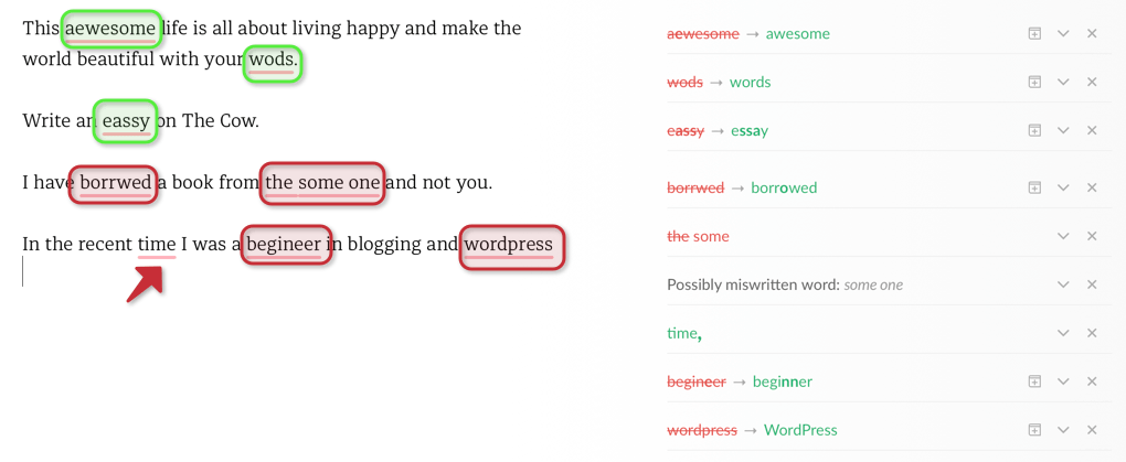 Grammarly Spelling Checker - BlogTipsTricks