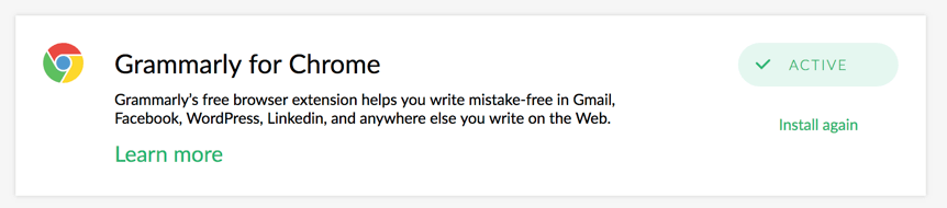 Grammarly for Chrome - BlogTipsTricks