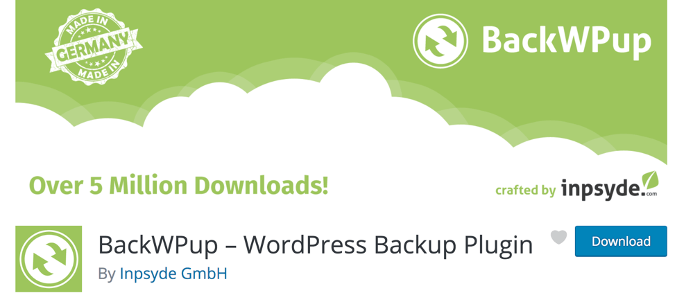 BackWPup – WordPress Backup Plugin - BlogTipsTricks