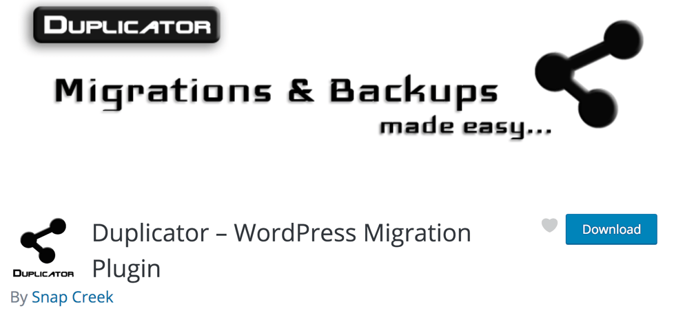 Duplicator – WordPress Migration Plugin - BlogTipsTricks