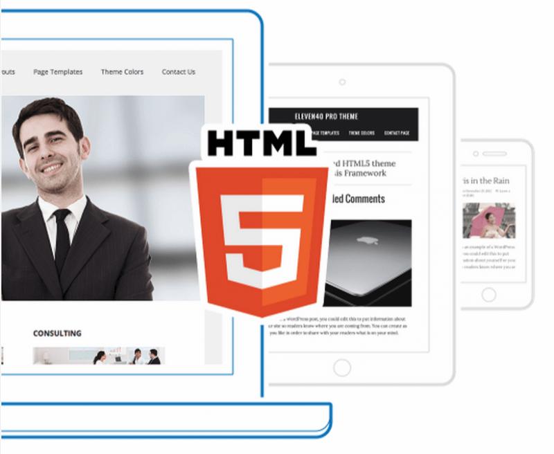 Html 5 Genesis Responsive Design - BlogTipsTricks